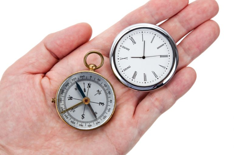 Connecting the Compass and the Clock by John Maxwell